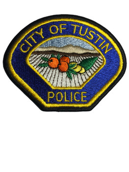 TUSTIN POLICE CA PATCH
