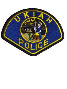 UKIAH POLICE CA PATCH