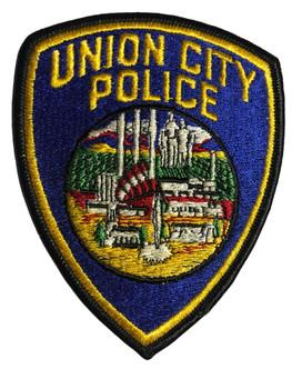 UNION CITY POLICE CA PATCH