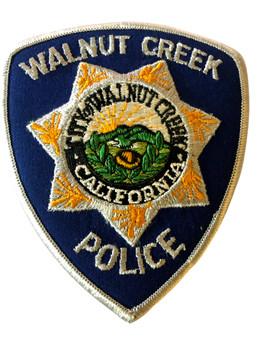 WALNUT CREEK  POLICE CA PATCH