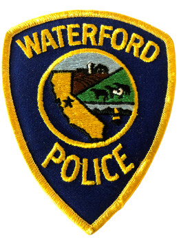 WATERFORD POLICE CA PATCH