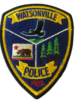 WATSONVILLE POLICE CA PATCH