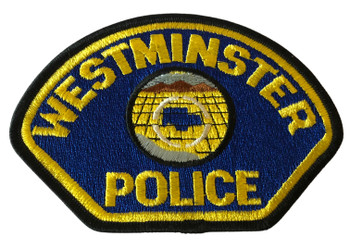 WESTMINTER POLICE CA PATCH