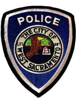 WEST SACRAMENTO  POLICE CA PATCH
