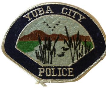 YUBA CITY  POLICE CA PATCH