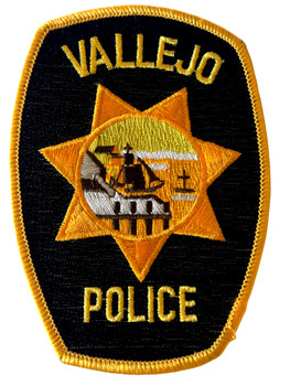 VALLEJO POLICE CA PATCH