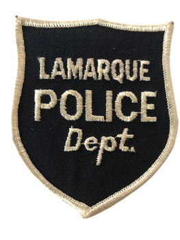 LAMARQUE  TX POLICE PATCH