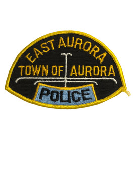 EAST AURORA POLICE NY PATCH