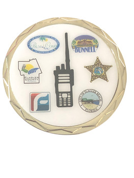 FLAGLER CTY FL PUBLIC SAFETY COIN