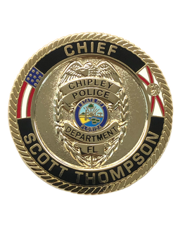 CHIPLEY POLICE FL  COIN