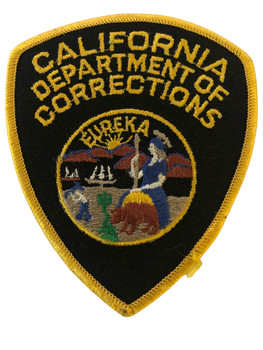 CALIFORNIA DEPT. OF CORRECTIONS SMALL CA PATCH