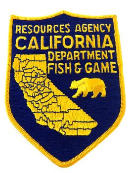 CALIFORNIA DEPT. OF FISH & GAME CA PATCH