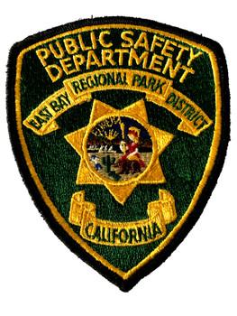 EAST BAY PARK  CA PUBLIC SAFETY POLCE PATCH