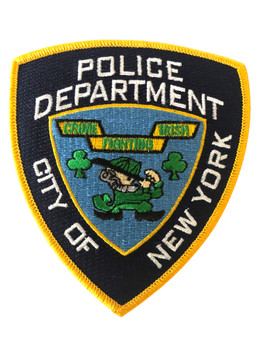 NYPD IRISH COP POLICE NY PATCH