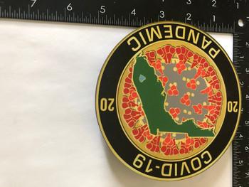 COVID-19  PLAQUE GOLD
