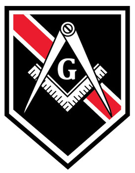MASONIC REDLINE PLAQUE