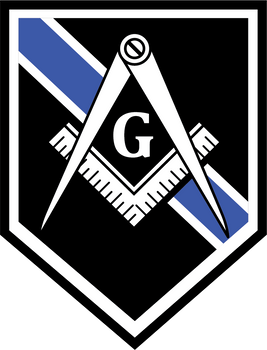 MASONIC THIN LINE PLAQUE