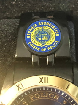 GEORGIA POLICE CHIEFS LOGO WATCH