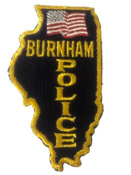 BURNHAM POLICE IL PATCH