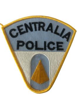 CENTRALIA  POLICE IL PATCH