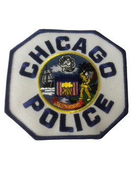 CHICAGO  POLICE IL PATCH BLUE