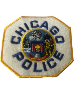 CHICAGO  POLICE IL PATCH GOLD