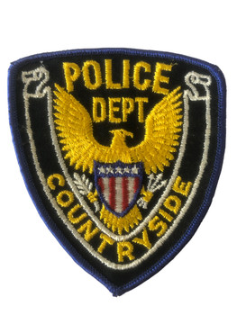 COUNTRYSIDE  POLICE IL PATCH
