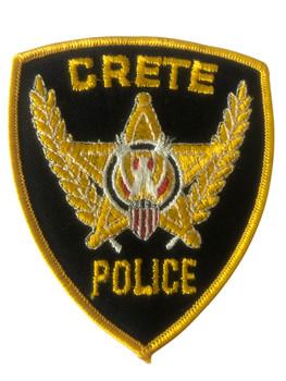 CRETE  POLICE IL PATCH