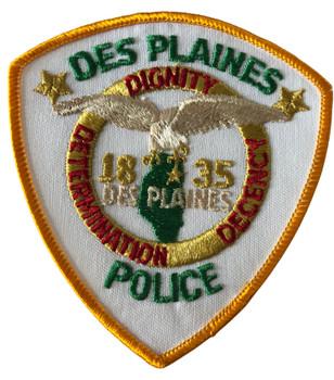 DES PLAINES  POLICE IL PATCH