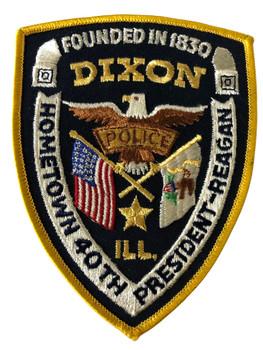 DIXON  POLICE IL PATCH HOMETOWN OF REGAN