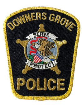DOWNERS GROVE  POLICE IL PATCH #1