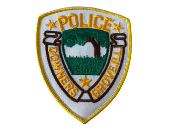 DOWNERS GROVE  POLICE IL PATCH #2