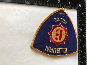 ELBURN  POLICE IL PATCH