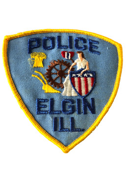ELGIN  POLICE IL PATCH