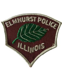 ELMHURST  POLICE IL PATCH