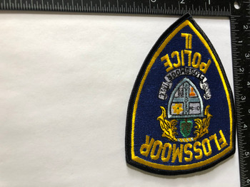 FLOSSMOOR  POLICE IL PATCH