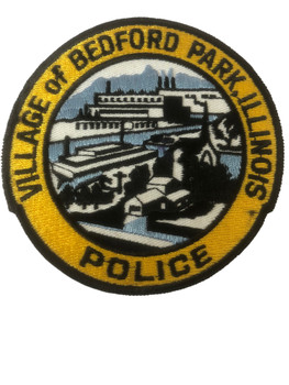 BEDFORD PARK  POLICE IL PATCH