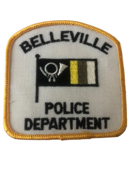 BELLEVILLE  POLICE IL PATCH