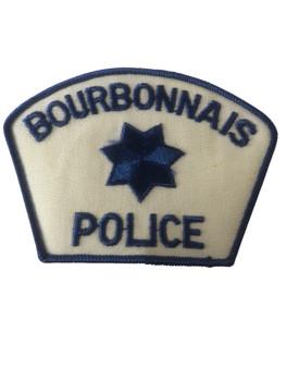 BOURBONNAIS  POLICE IL PATCH