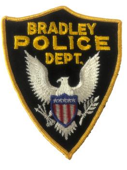 BRADLEY  POLICE IL PATCH