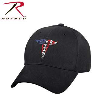Medical Symbol Hat Low Profile Cap