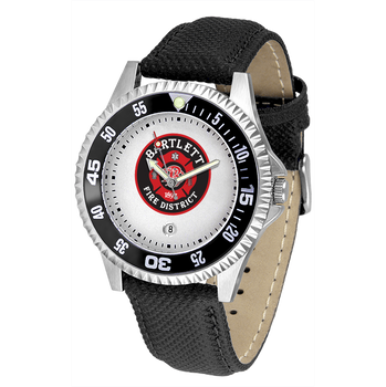 COMPETITOR MENS FIRE LEATHER WATCH