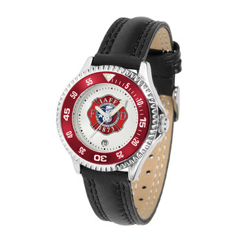 COMPETITOR LADIES FIRE LEATHER WATCH