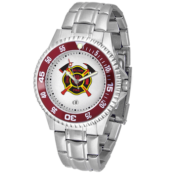 COMPETITOR MENS FIRE STEEL WATCH