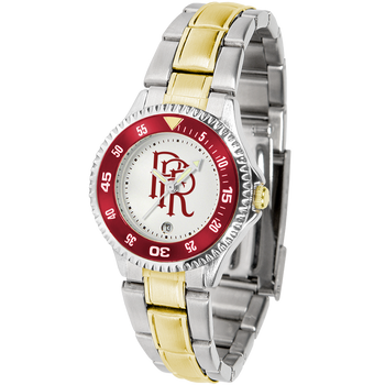 COMPETITOR LADIES FIRE TWO-TONE WATCH