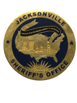 OFFICE OF SHERIFF JACKSONVILLE  POLICE COIN