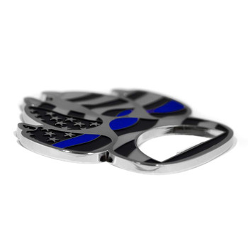 THIN BLUE LINE K9 PAW BOTTLE OPENER