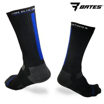 BATES + THIN BLUE LINE SOCKS