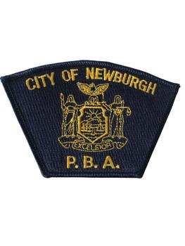 NEWBURGH NY POLICE PBA PATCH