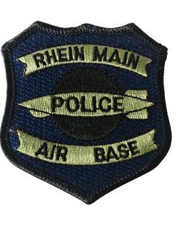 RHEIN MAIN AIR BASE POLICE PATCH